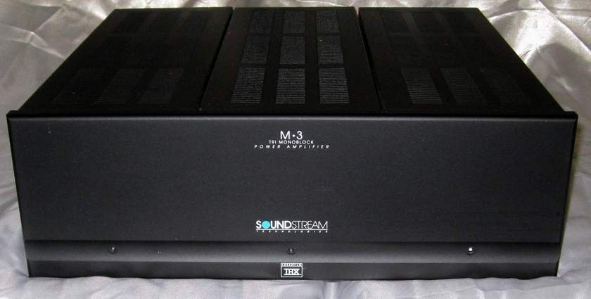 Soundstream M-3 2 channel power amplifier