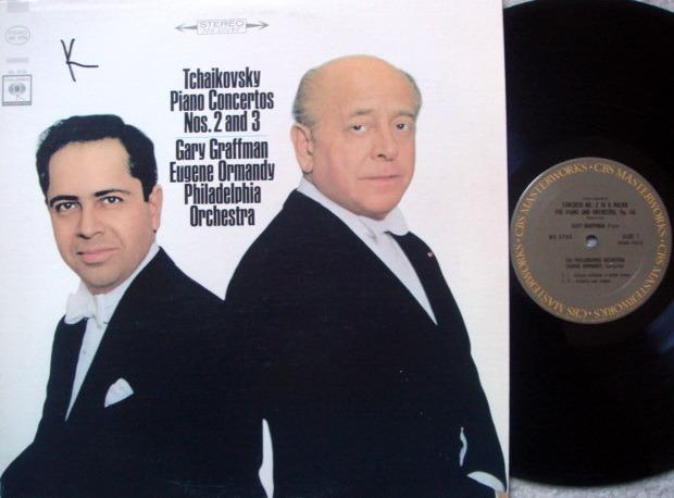 Columbia / GRAFFMAN-ORMANDY, - Tchaikovsky Piano Concertos No.2 & 3, MINT!