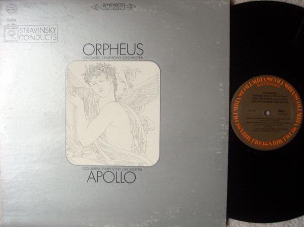 Columbia / STRAVINSKY, - Orpheus-Apollo, MINT!