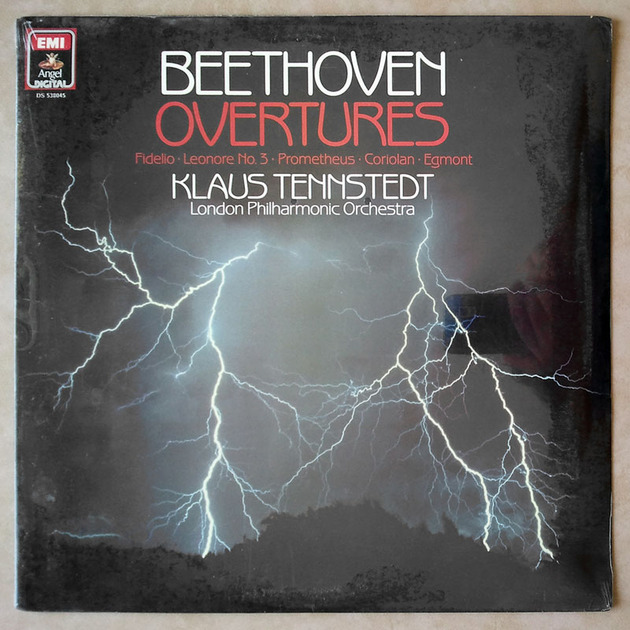 Sealed EMI Digital | TENNSTEDT/BEETHOVEN - Overtures - Fidelio, Leonore No.3, Prometheus, Coriolan, Egmont