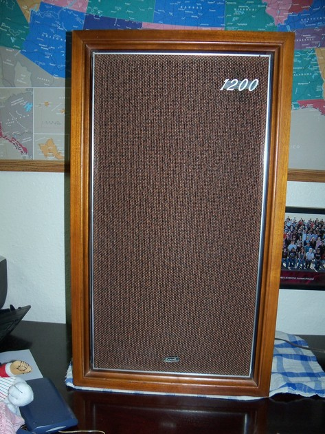Coral Fullrange Vintage Speakers Speaker - BX-1200 - Great Condition - New Caps