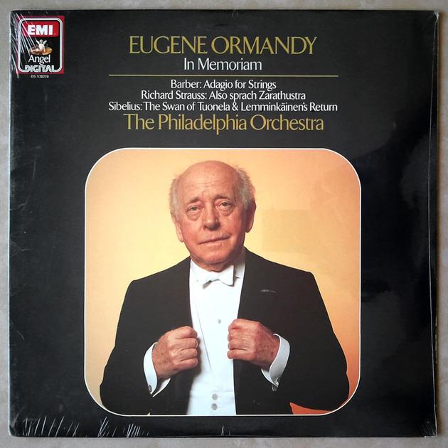 Sealed EMI Digital | ORMANDY/BARBER - Adagio for Strings/STRAUSS Also sprach Zarathustra/SIBELIUS The Swan of Tuonela & Lemminkainens Return
