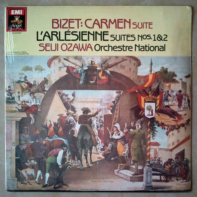 Sealed EMI Digital | OZAWA/BIZET - Carmen Suites, L'Arlésienne Suites Nos. 1 & 2