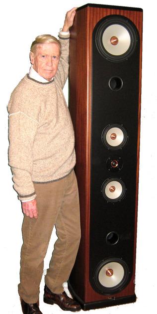 Tyler Acoustics Woodmere High-Performance, floor standing full range speakers