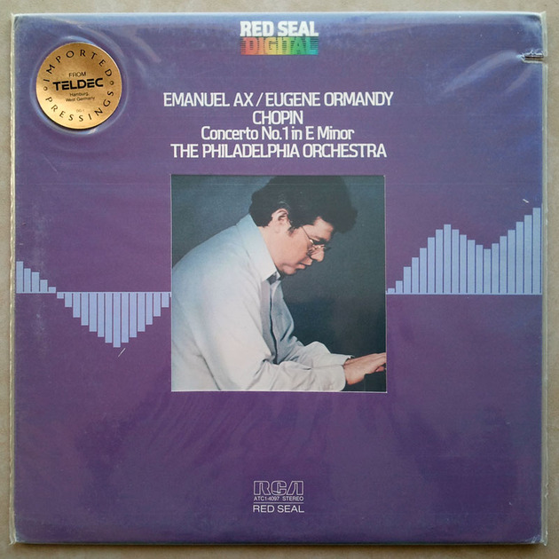 Sealed RCA Digital | EMANUEL AX/CHOPIN - Piano Concerto No.1 / Audiophile German Pressings