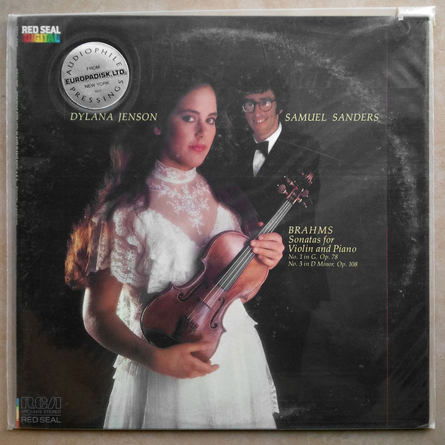 Sealed RCA Digital   DYLANA JENSON/BRAHMS - Sonatas for Violin and Piano Nos. 1 & 3 / Audiophile Pressings