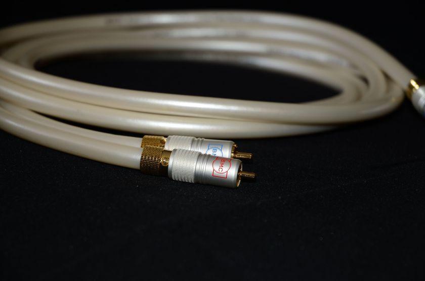 BMC Monos  Cable 2 Meter RCA to RCA Interconnect