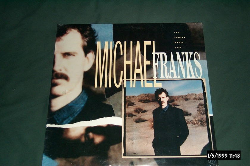 Michael Franks - The Camera Never Lies Sealed LP
