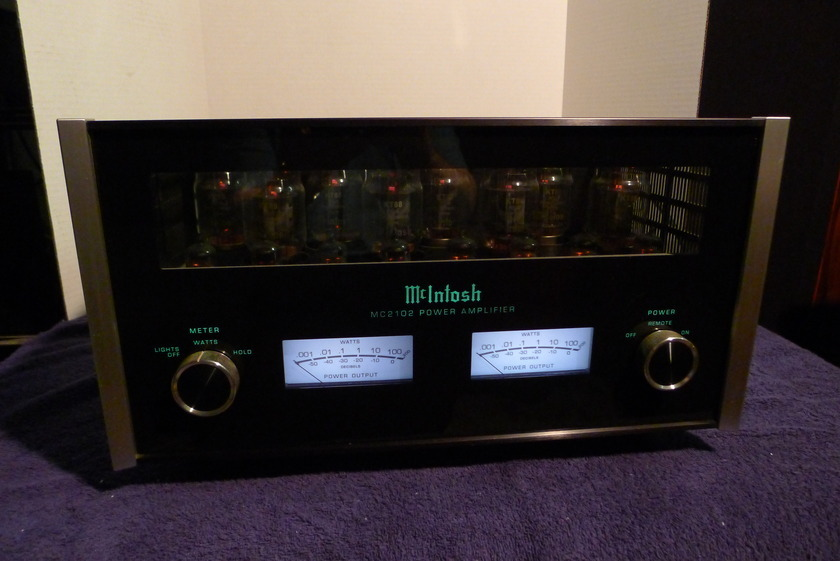 MCINTOSH  MC 2102 100 WPC ALL TUBE AMPLIFIER