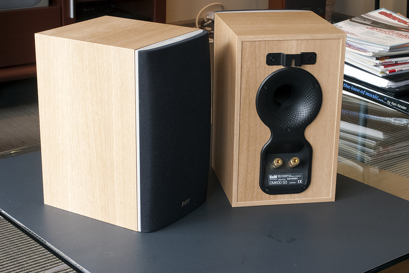 B&W DM600 s3 Bookshelf Speakers.