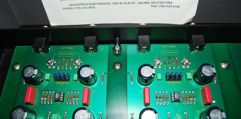 AcousTech PH-1 phono preamp