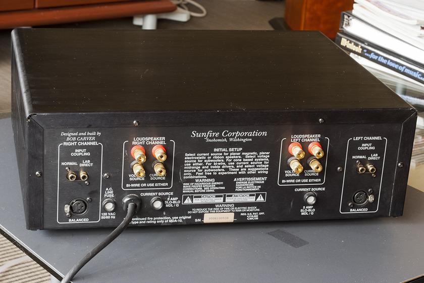 Sunfire Sunfire 300 Power Amplifier; 300w x 2. Balanced and Single End Inputs.