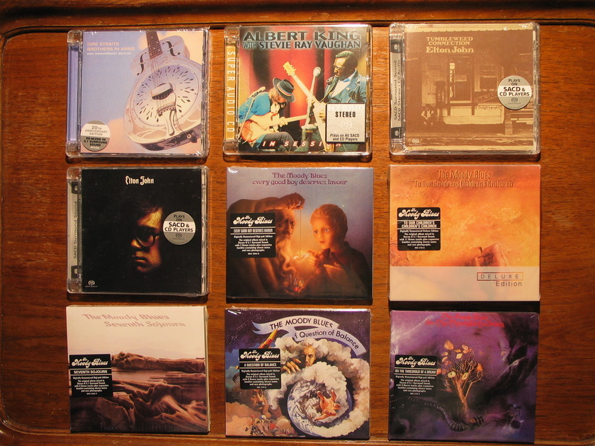 SACDs For Sale - All 7 Moody Blues SACDs