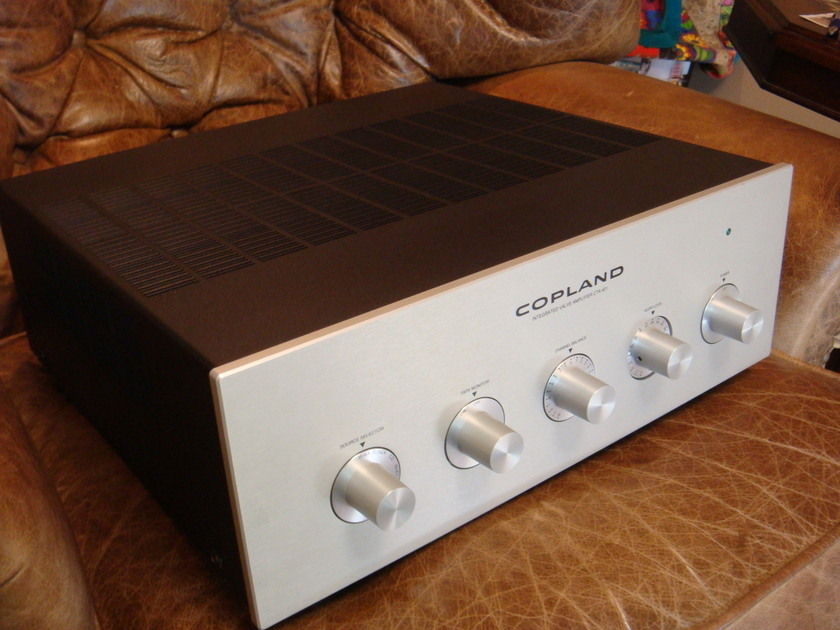 Copland CTA-401  Tube Integrated Amplifier  with Phono stage, MSRP $5,000 Cello
