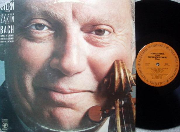 Columbia Odyssey / STERN-ZAKIN,  - Bach Violin Sonatas and Partita, NM!