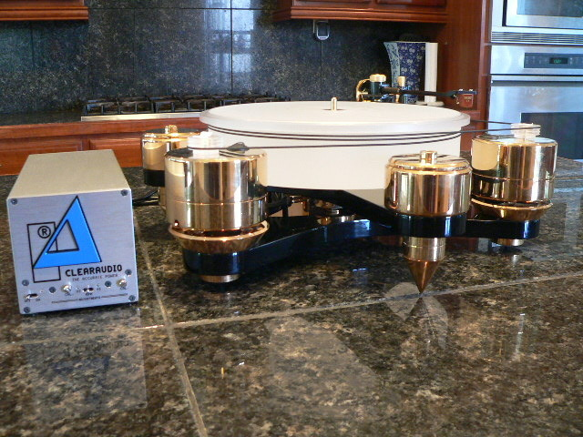 ClearAudio, Graham, Benz Maximum Solution, Graham 2.2, Benz Custom Gold Plated complete playback system