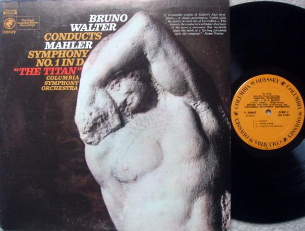 Columbia Odyssey / BRUNO WALTER,  - Mahler Symphony No.1 Titan, NM!