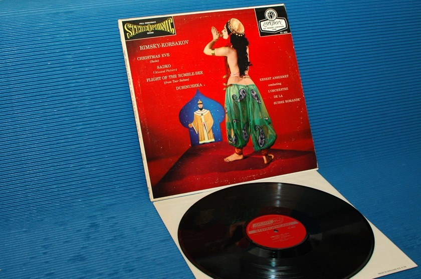 "RIMSKY-KORSAKOV/Ansermet - - ""CHRISTMAS EVE SUITE"" -  London 1961early pressing"