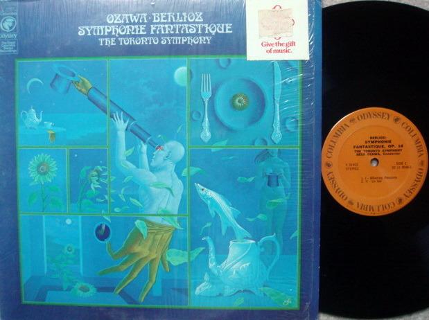 Columbia Odyssey / SEIJI OZAWA,  - Berlioz Symphonie Fantastique, NM!