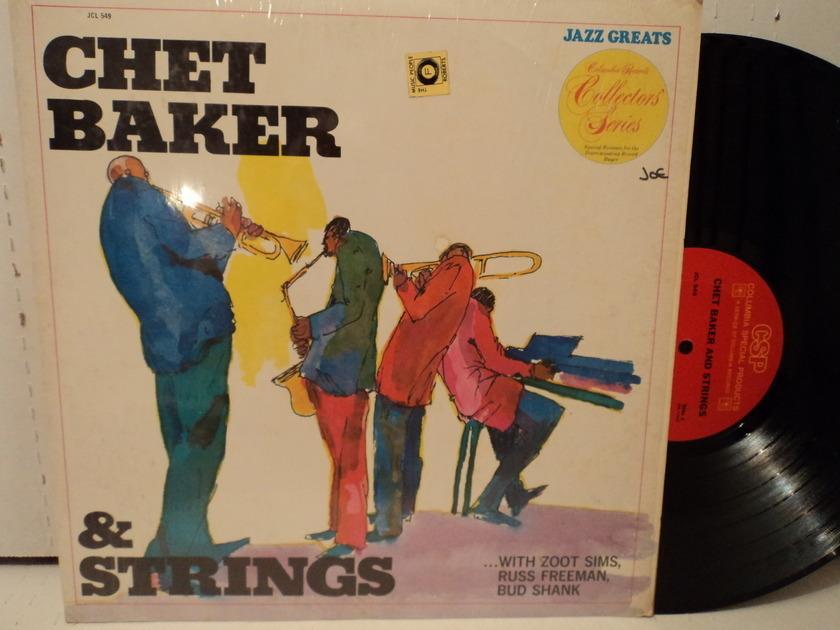 Chet Baker  - Chet Baker and Strings  1974 Shrink VG+