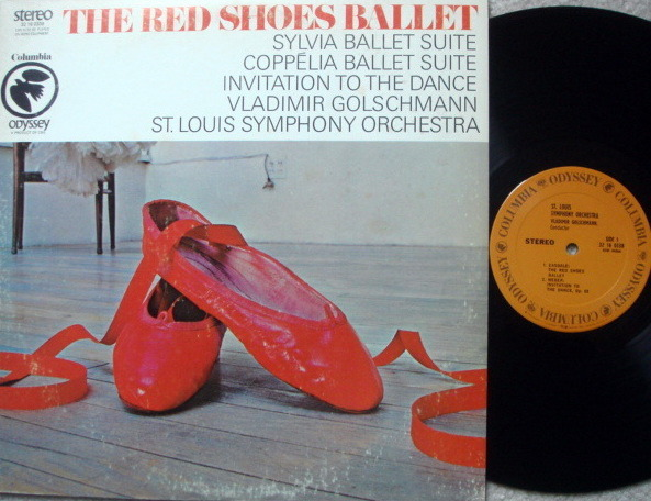 Columbia Odyssey / VLADIMIR GOLSCHMANN,  - The Red Shoes Ballet, NM!