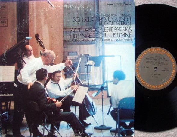 Columbia / SERKIN-LAREDO, - Schubert Trout Quintet, NM!