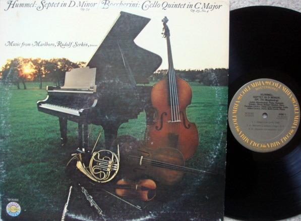 Columbia / SERKIN, - Boccherini Cello Quintet, NM!
