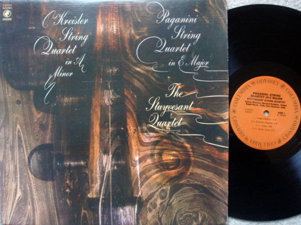 Columbia Odyssey / STUYVESANT QT, - Paganini-Kleisler String Quartets, NM!