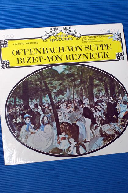 "VARIOUS/Stein - - ""Favorite Overtures"" -  Audio Spectrum 1960s SEALED"