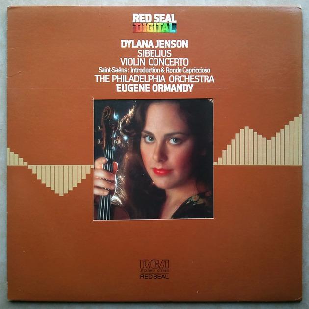 RCA Digital | DYLANA JENSON/ORMANDY/SIBELIUS - Violin Concerto / Audiophile German Pressings