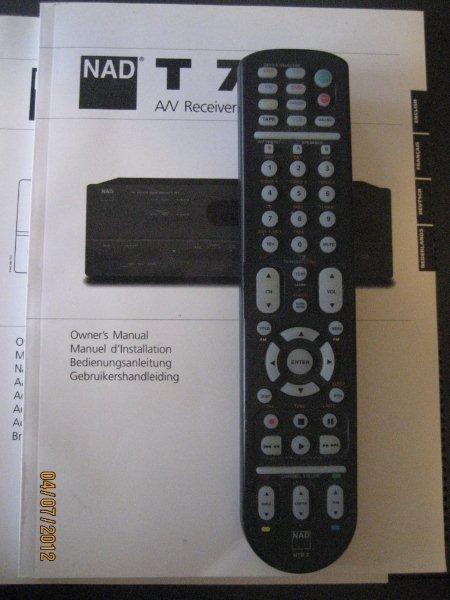 NAD  T 743 A/V Receiver