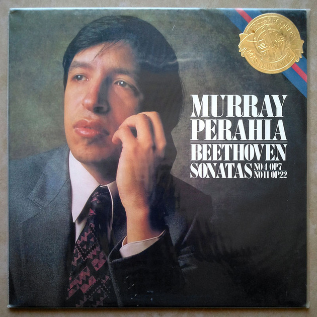 Sealed CBS | PERAHIA/BEETHOVEN - Sonatas Nos. 4 & 11