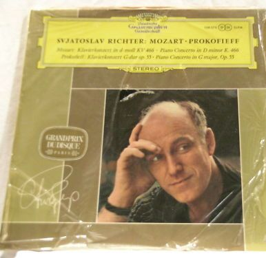 S Richter - BLUE TULIP DG Mozart/prokofieff