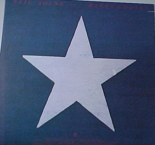 Neil Young - Hawks and Doves classic Neil LP...NM