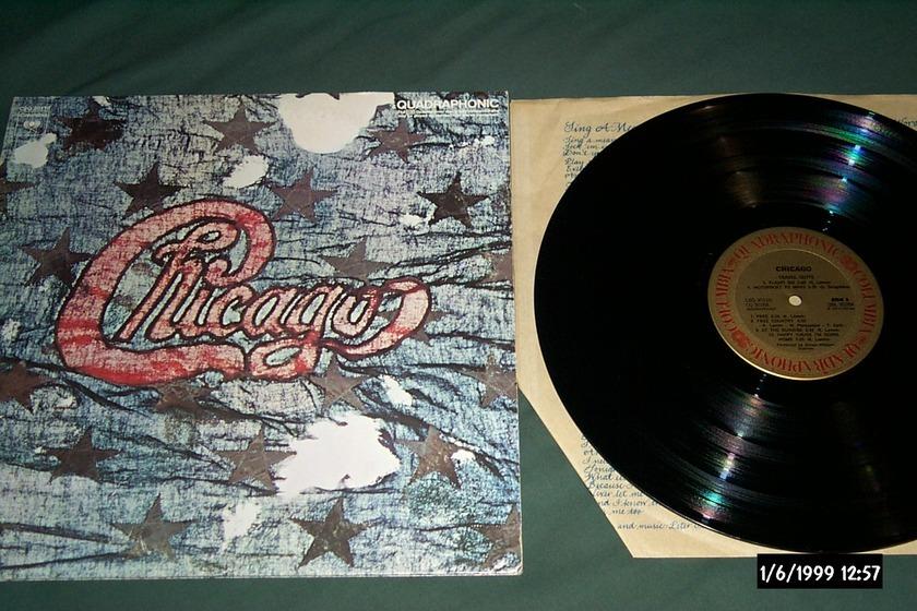 Chicago - Chicago 3 2 LP SQ Quad Vinyl NM