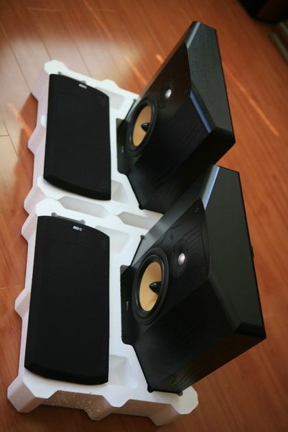 B&W Bowers & Wilkins CDM-SNT Black Pair Box