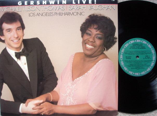Columbia / SARAH VAUGHAN-TILSON THOMAS, - Gershwin Live!, NM!
