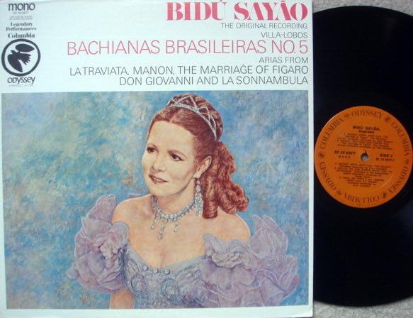 Columbia Odyssey / BIDU SAYAO sings - Opera Arias, NM!