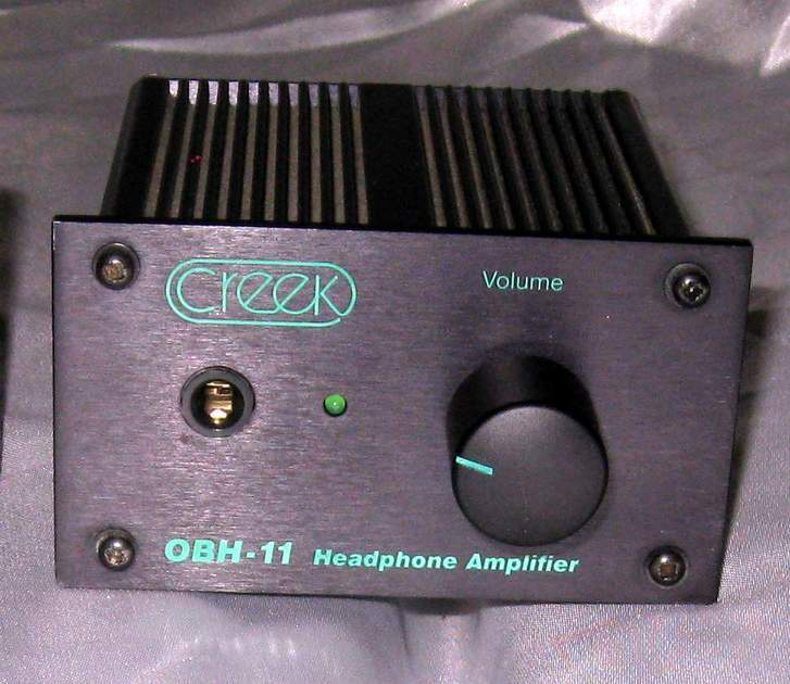 Creek OBH-11 headphone amplifier