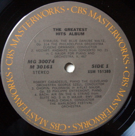 CBS / BERNSTEIN-CASALS, - A Delightful Introduction to Great Music NM to VG+, 2LP Set!