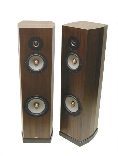 Tyler Acoustics Linbrook system II's (new version) ribbon mahogany!