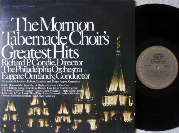 Columbia / ORMANDY, - Mormon Tabernacle Choir's Greatest Hits, NM!