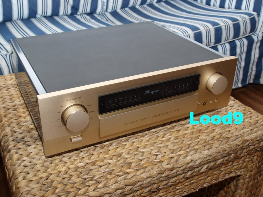 Accuphase  C-2400 - the best , musical and well balanced