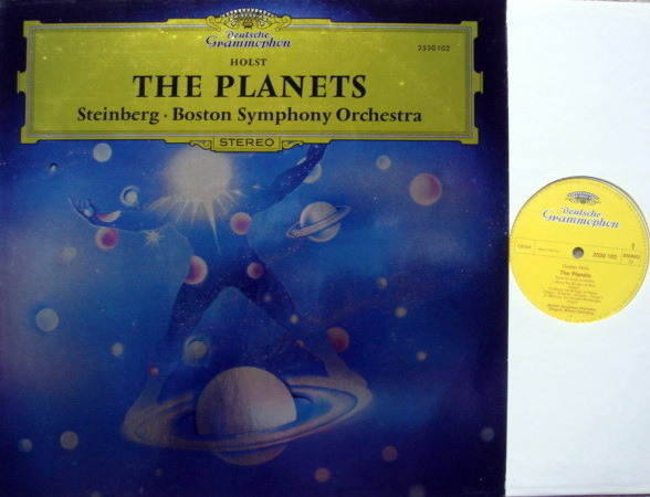 DG / STEINBERG-BSO, - Holst The Planets, NM!