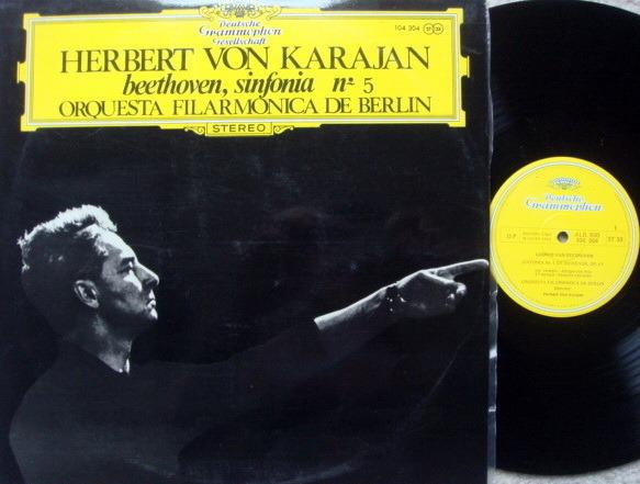 DGG / KARAJAN/BPO, - Beethoven Symphony No.5, NM!