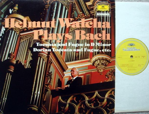 DG / WALCHA, - Bach Toccata and Fugue, NM!