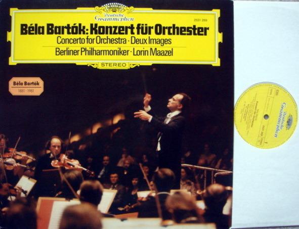 DG / MAAZEL-BPO, - Bartok Concerto for Orchestra, NM!