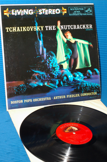 """TCHAIKOVSKY/Fiedler -  - """"The Nutcracker"""" -  RCA """"Shaded Dog"""" 1958 Stereo"""