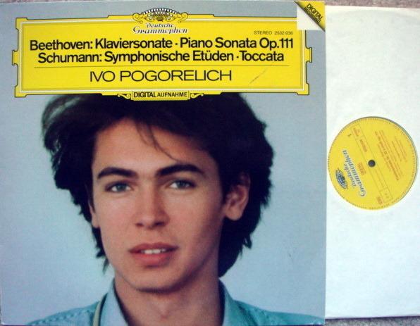 DG Digital / IVO POGORELICH, - Beethoven Piano Sonata No.32, NM!