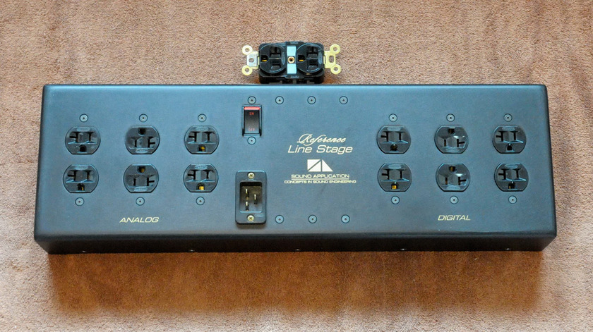 Sound Application Reference Line Stage power conditioner/surge control